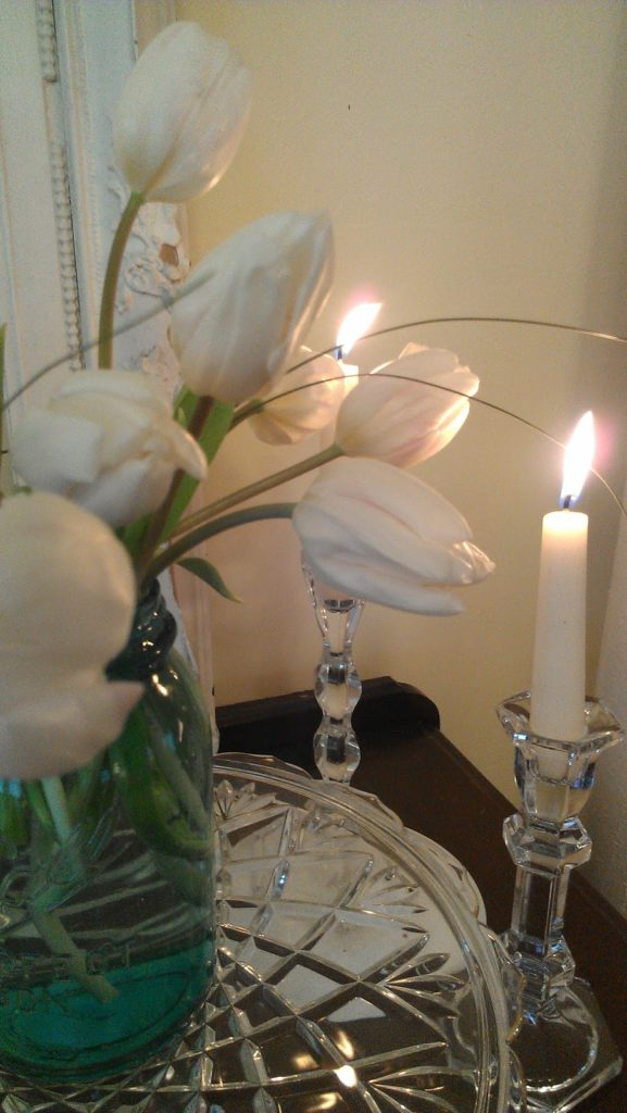 Tulips-and-candlelight